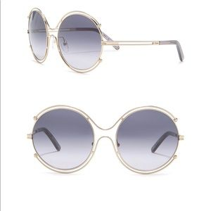 Chloe Accessories - Chloe 59 mm round sunglasses